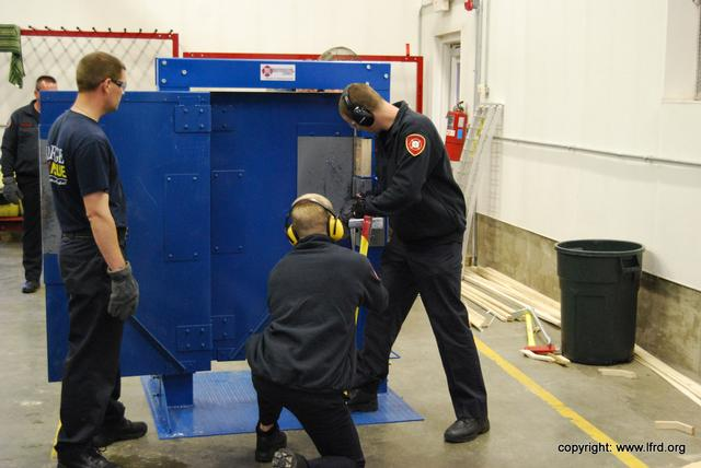 Forcible Entry Training Lagrange Fire Rescue Department