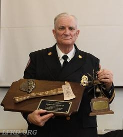 Chief James Sitzler - 40 Years of Service Award